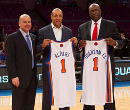 Alpari US Is Proud to Sponsor the Knicks
