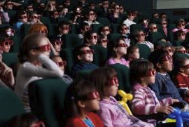 Enjoying a 3D Movie