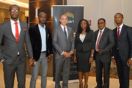 The Alpari Nigeria Team Is Introduced to Lagos