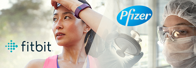 New Investment Idea: Fitbit (FIT) and Pfizer (PFE) Share Price Growth