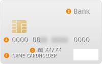 银行卡正面: