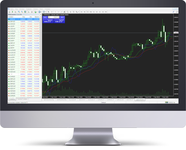 The MetaTrader 4 platform